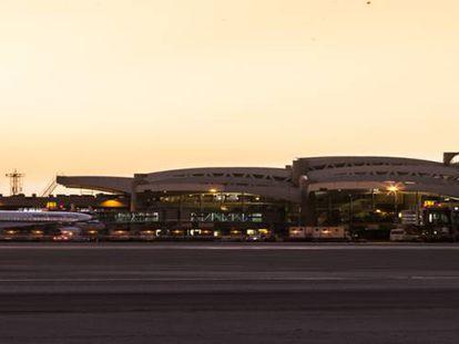 Aeropuerto internacional Rey Jaled.