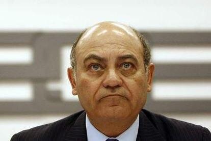 Gerardo Díaz Ferrán durante una junta directiva de la CEOE el pasado 9 de febrero.