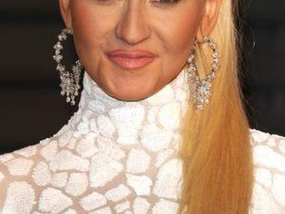 La cantante Christina Aguilera.