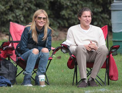 Heidi Klum y Vito Schanbel, en Bretwood, en 2015.