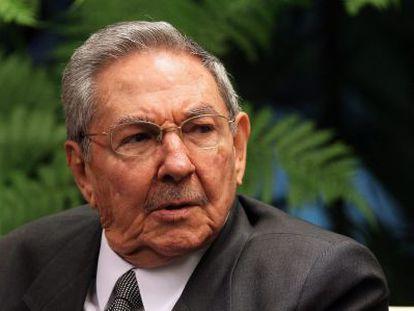 El presidente de Cuba, Raúl Castro, el 24 de mayo.