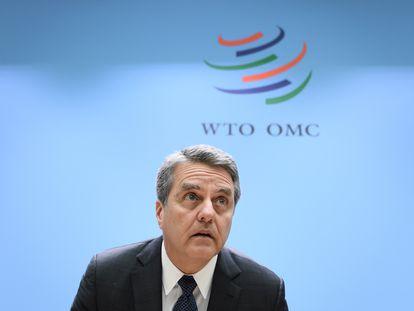 Roberto Azevêdo, director general de la OMC
