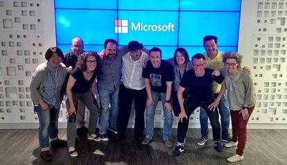 Diez de los miembros de Microsoft encargados de desarrollar a Cortana.
