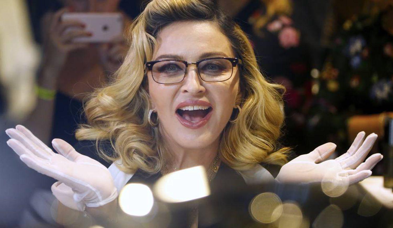 Chanteuse Madonna, janvier dernier.