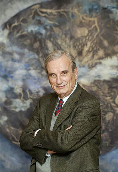 Joaquim Fest, escritor y autor del libro <i>El hundimiento: Hitler y el final del Tercer Reich.</i>
