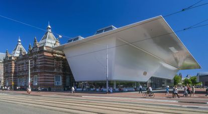 Imagen del Stedelijk Museum de Ámsterdam tras su lavado de cara.