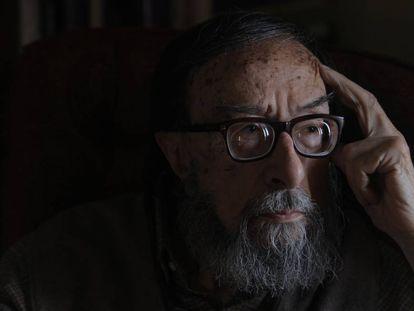 El escritor Juan Eduardo Zúñiga en 2009.