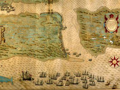 El Ministerio de Cultura documenta y ubica los 681 barcos hundidos en el Caribe entre 1492 y 1898, incluida la Santa María y las naos de Cortés, Pizarro o Núñez de Balboa