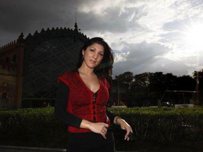 Joana Jiménez, en Sevilla.