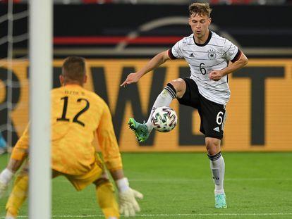 El jugador alemán Joshua Kimmich durante el partido amistoso entre Alemania y Letonia del 7 de junio de 2021.