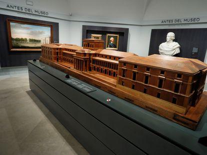 El Prado inaugura 'Historia del Museo del Prado y sus edificios', una sala permanente que revisa la historia arquitectónica de su edificio y las vicisitudes históricas y políticas que han transformado la pinacoteca a lo largo de la historia.