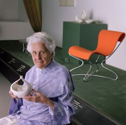 Eva Zeisel, artesana y diseñadora industrial.