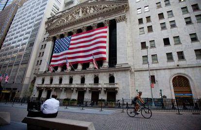 Imagen del edificio de la Bolsa de Nueva York