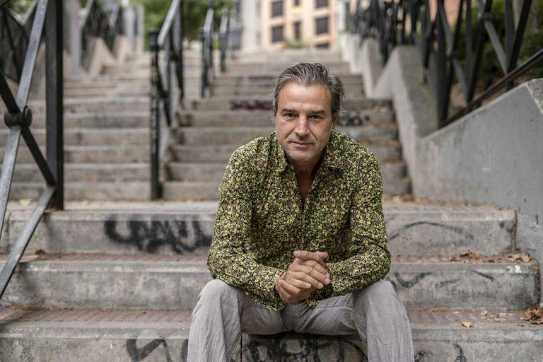 Alberto San Juan en Madrid, unos días antes de actuar en el Festival de Teatro y Música La Antigua Mina.