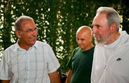 Fidel Castro en una de las fotografías tomadas por su hijo Álex Castro el 7 de julio.