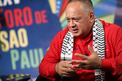 Diosdado Cabello, en 2019.