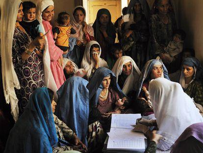La lucha de las mujeres en Afganistán, en imágenes