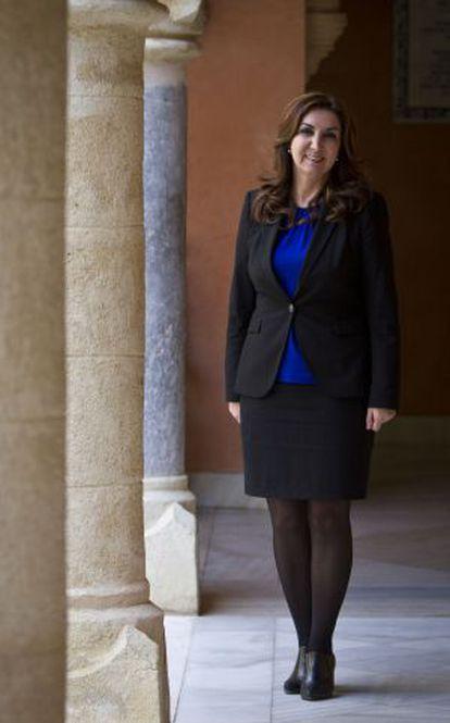 La alcaldesa de Rota, Eva Corrales.