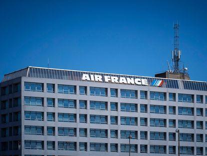 Sede de Air France-KLM, cerca del aeropuerto Charles de Gaulle en París.