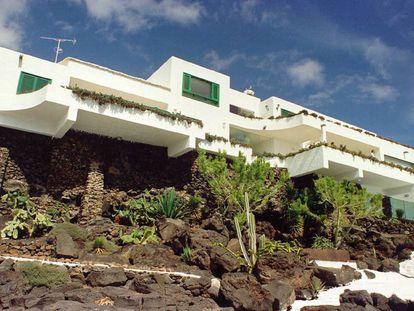 Fotografía datada el 5 de diciembre de 1999 de la residencia La Mareta, en la localidad de Costa Teguise de Lanzarote.