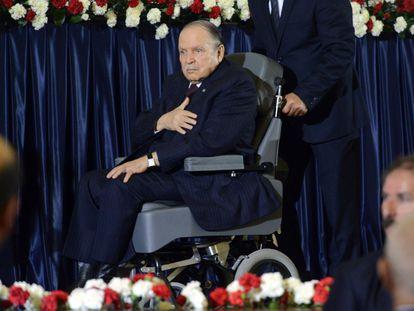 El expresidente de Algeria, Abdelaziz Buteflika, en una imagen de 2014.