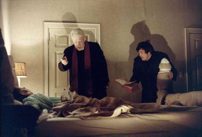Un fotograma de 'El exorcista', clásico del género dirigido en 1973 por William Friedkin.