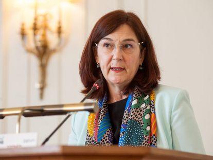 Cani Fernández, presidenta de la CNMC, en la Universidad Menéndez Pelayo de Santander.