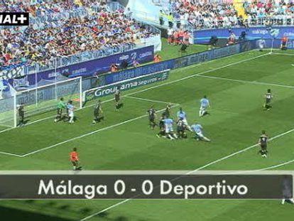 Málaga 0 - Deportivo 0