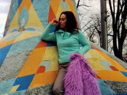 Yevguenia Yepez Vinuesa, en Donetsk (Ucrania), en una imagen cedida por la familia.