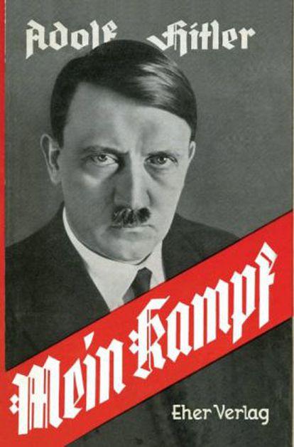 Portada de una de las primeras ediciones de 'Mein Kampf'