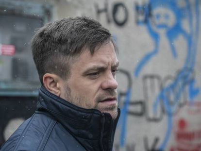 Jirí Mádl, protagonista de 'Memoria de un crimen'.