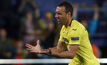 Cazorla, durante un partido de esta temporada con el Villarreal.