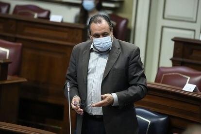 El consejero de Sanidad del Gobierno de Canarias, Blas Trujillo.