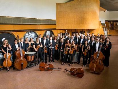 La Real Filharmonía de Galicia, en una imagen cedida.
