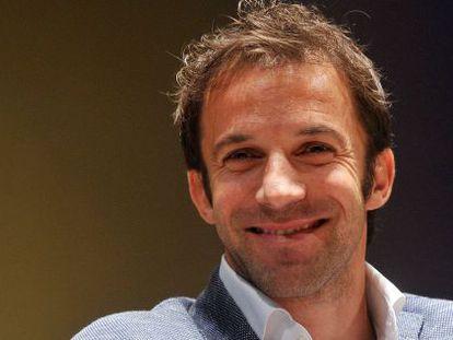 Alessandro Del Piero, esta semana en la Universidad Bocconi de Milán