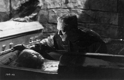 Fotograma de la película 'La novia de Frankenstein' de James Whale.