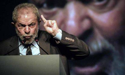 Lula da Silva el 4 de agosto en Río de Janeiro.