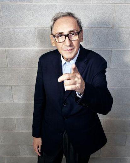 El cantautor italiano Franco Battiato.