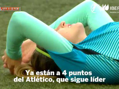 El Barça cae en Badajoz y el Atlético abre brecha en la Liga Iberdrola