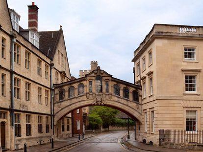 La universidad de Oxford, en Reino Unido, uno de los destinos favoritos de los estudiantes españoles.