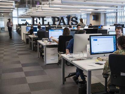 Redacción de EL PAÍS en Madrid.