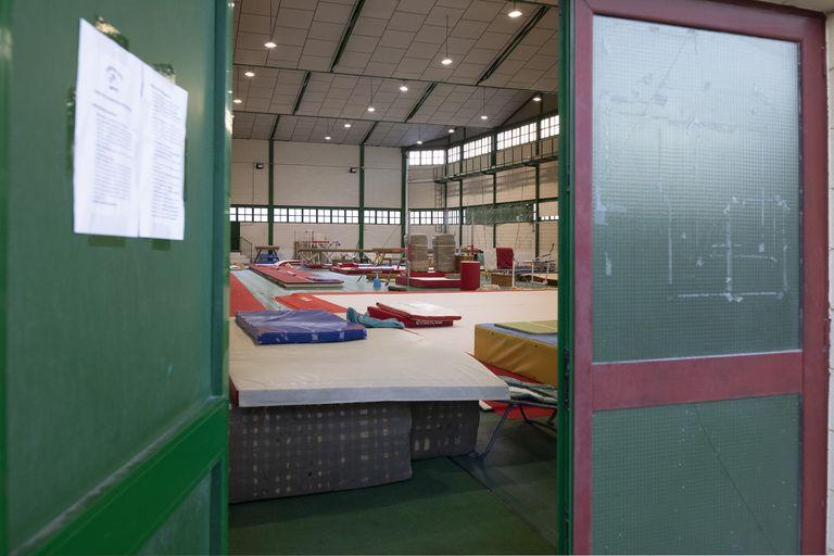Las instalaciones del polideportivo de Betxí (Castellón). ÁNGEL SÁNCHEZ