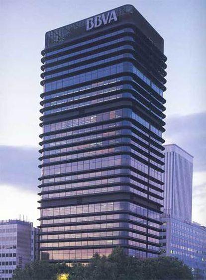 Torre del BBVA en el Paseo de la Castellana de Madrid