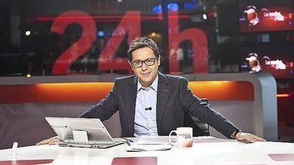 Sergio Martín, conductor de 'La noche en 24 horas'