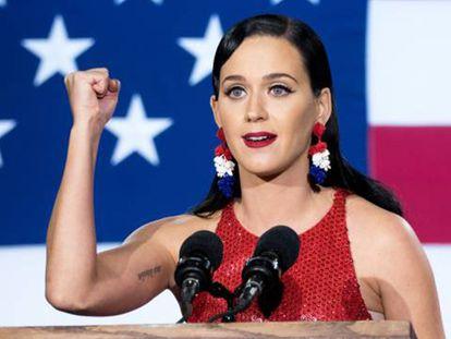 Norte el pasado 8 de noviembre.Katty Perry, la noche electoral.
