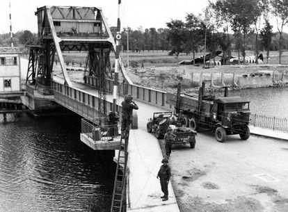 El puente Pegasus, objetivo de los Aliados el Día D.