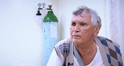 "Captura de la entrevista ""Jefe de jefes"" de Telemundo."