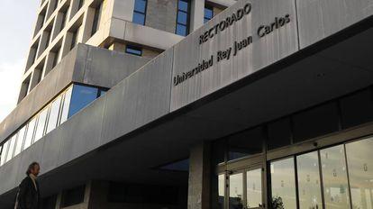 Campus de la Universidad Rey Juan Carlos de Móstoles (Madrid).