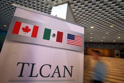 Vista del reciento en el que se ha celebrado la quinta ronda de renegociación del TLC, en la Ciudad de México.