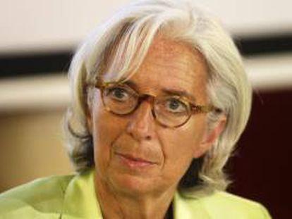 La directora gerente del Fondo Monetario Internacional (FMI), Christine Lagarde. EFE/Archivo